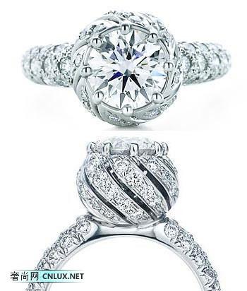 16种款式的华丽钻石婚戒奢华大赏
