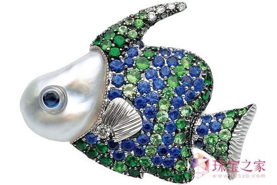 最生动的动物珠宝