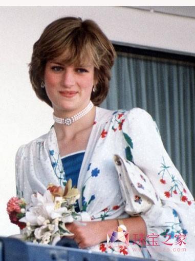 戴安娜王妃的珍珠情缘