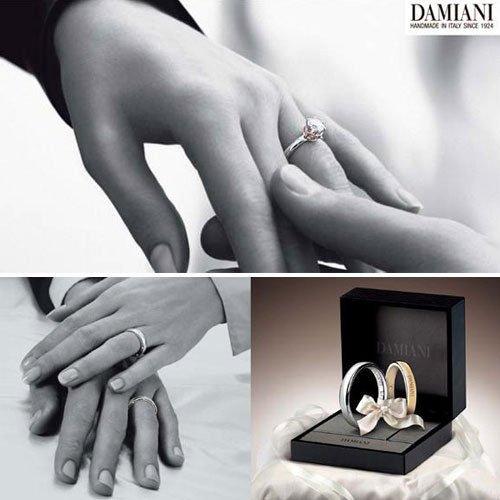 意大利珠宝 DAMIANI新品婚戒BRIDAL系列