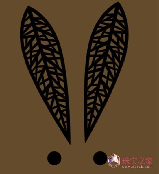 2011兔年生肖首饰设计入选作品网络预展